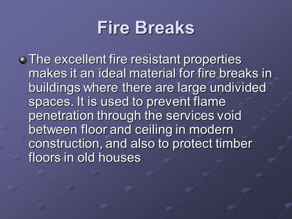 Fire Breaks