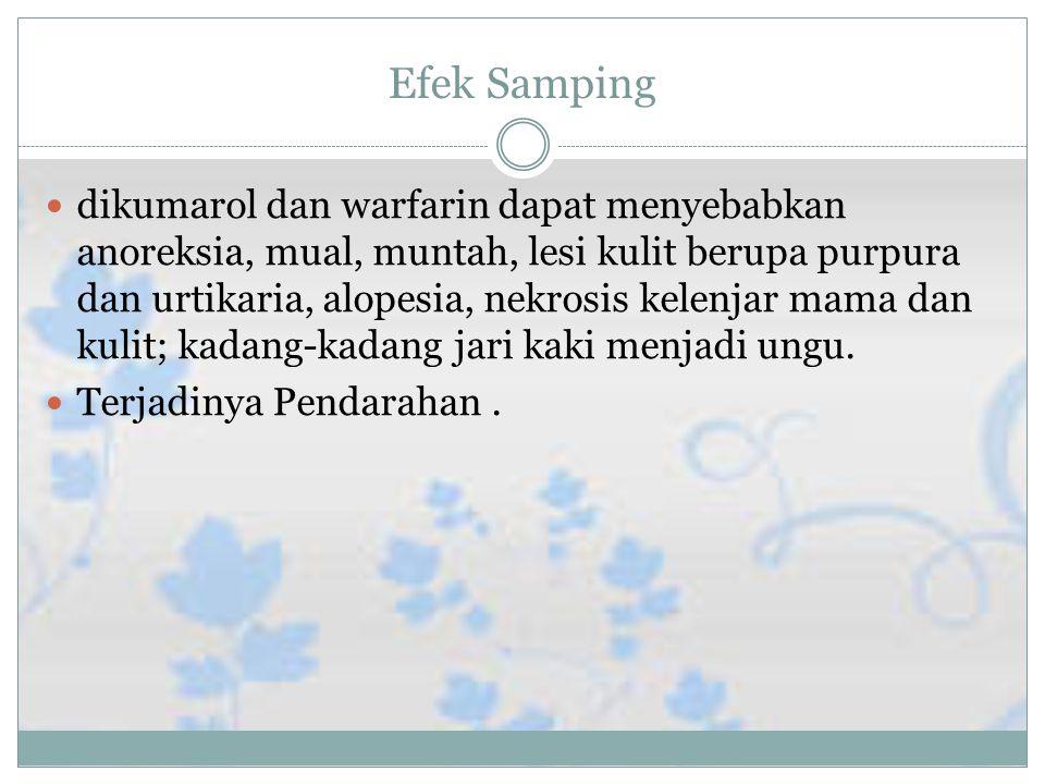 Efek samping Efek Samping