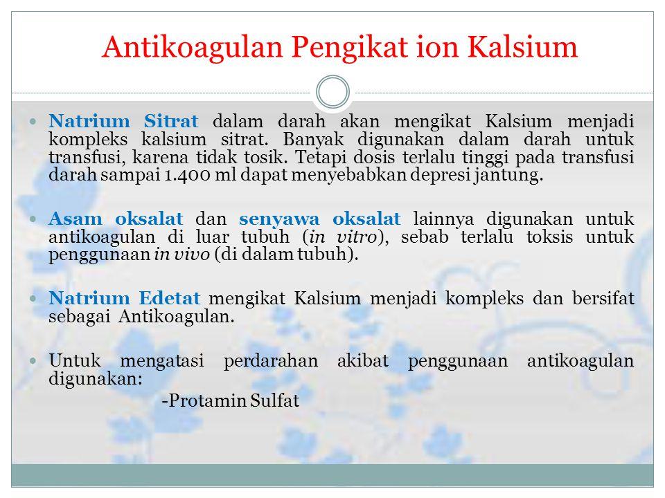 Antikoagulan Pengikat ion Kalsium