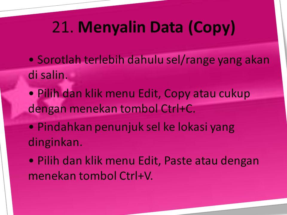 21. Menyalin Data (Copy)