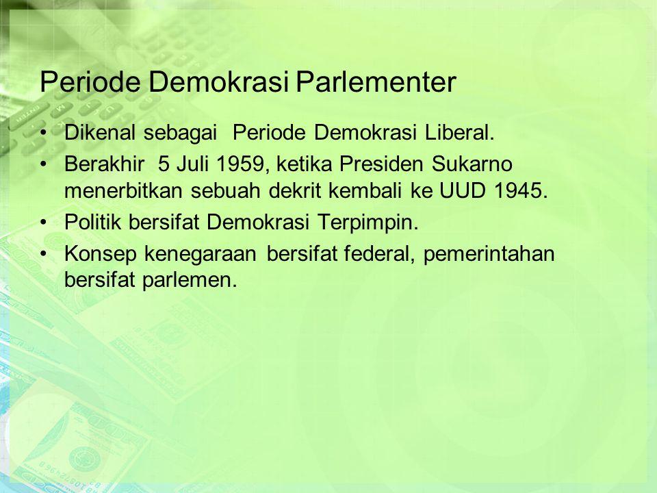 Periode Demokrasi Parlementer