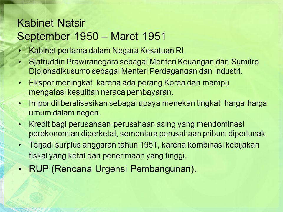 Kabinet Natsir September 1950 – Maret 1951