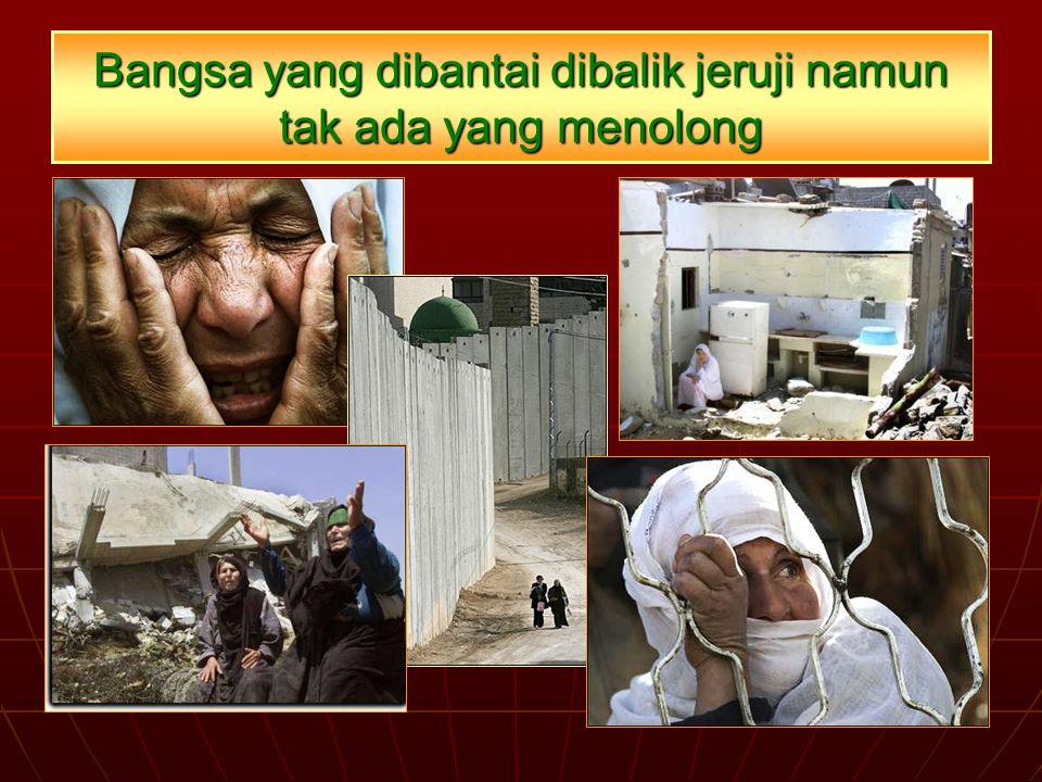 Bangsa yang dibantai dibalik jeruji namun tak ada yang menolong