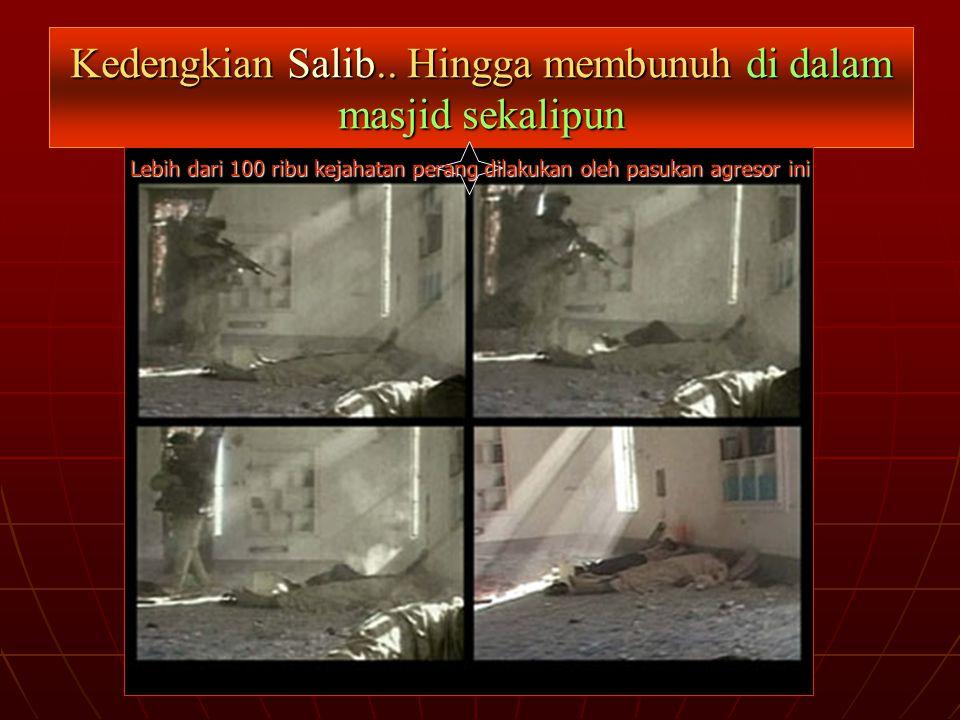 Kedengkian Salib.. Hingga membunuh di dalam masjid sekalipun