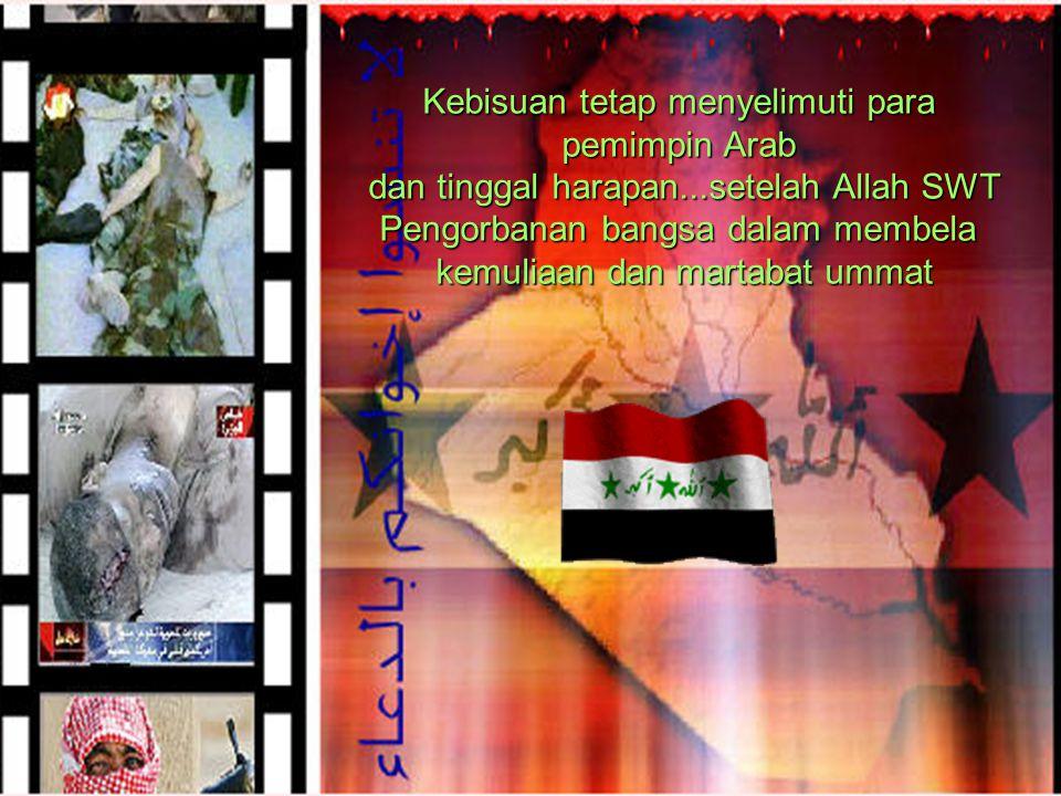 Kebisuan tetap menyelimuti para pemimpin Arab dan tinggal harapan