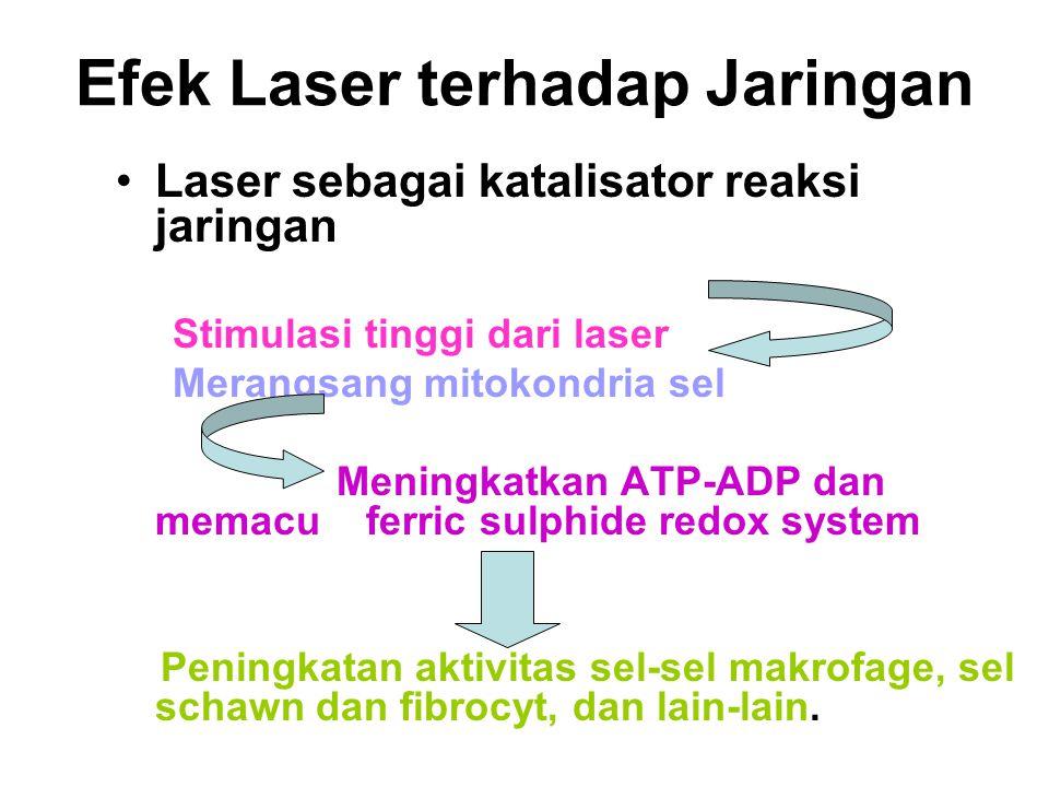 Efek Laser terhadap Jaringan