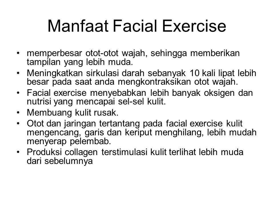 Manfaat Facial Exercise