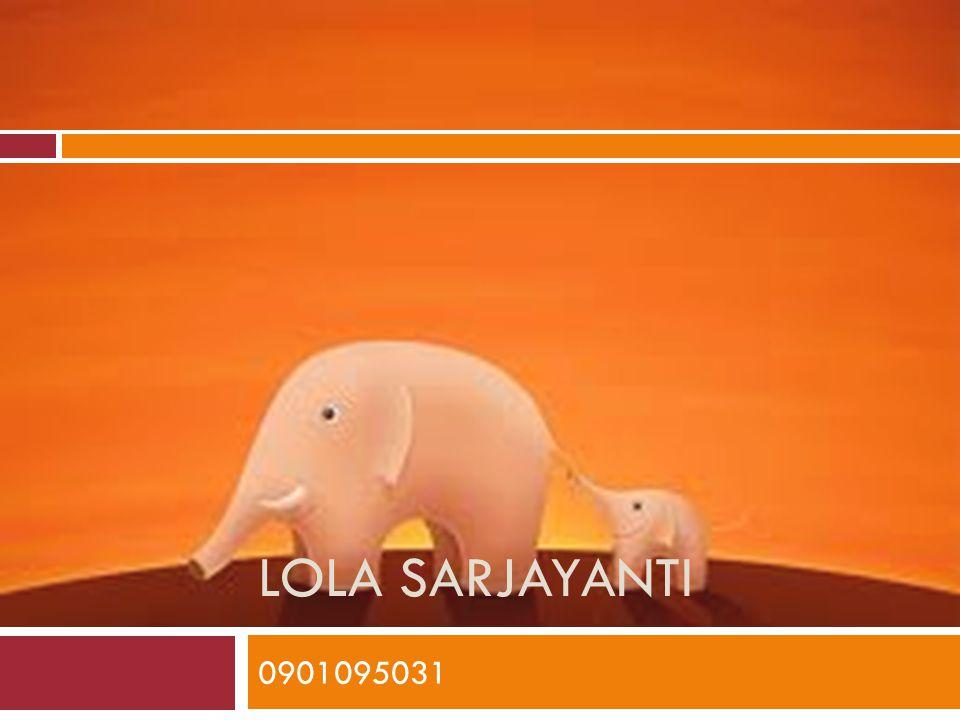 Lola Sarjayanti 0901095031