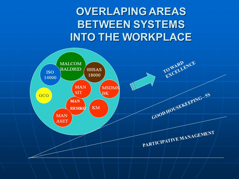OVERLAPING AREAS BETWEEN SYSTEMS INTO THE WORKPLACE