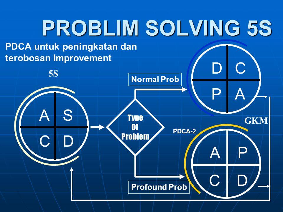 PROBLIM SOLVING 5S D C A P A S D C A P C D