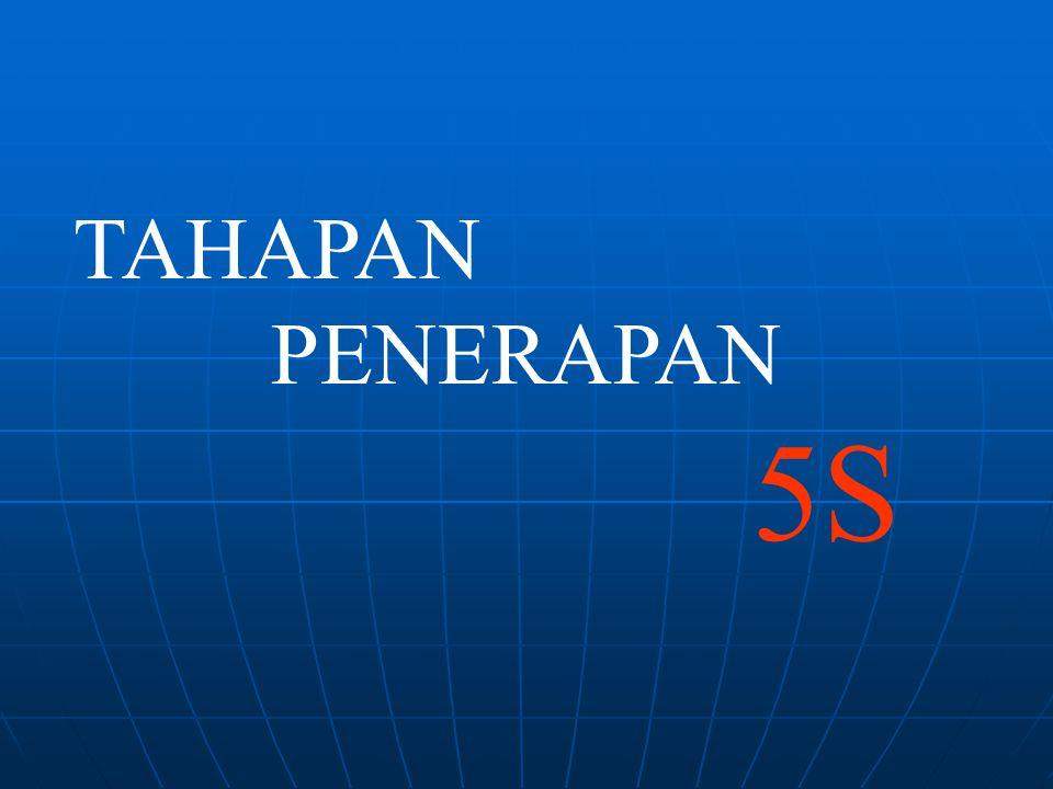 TAHAPAN PENERAPAN 5S