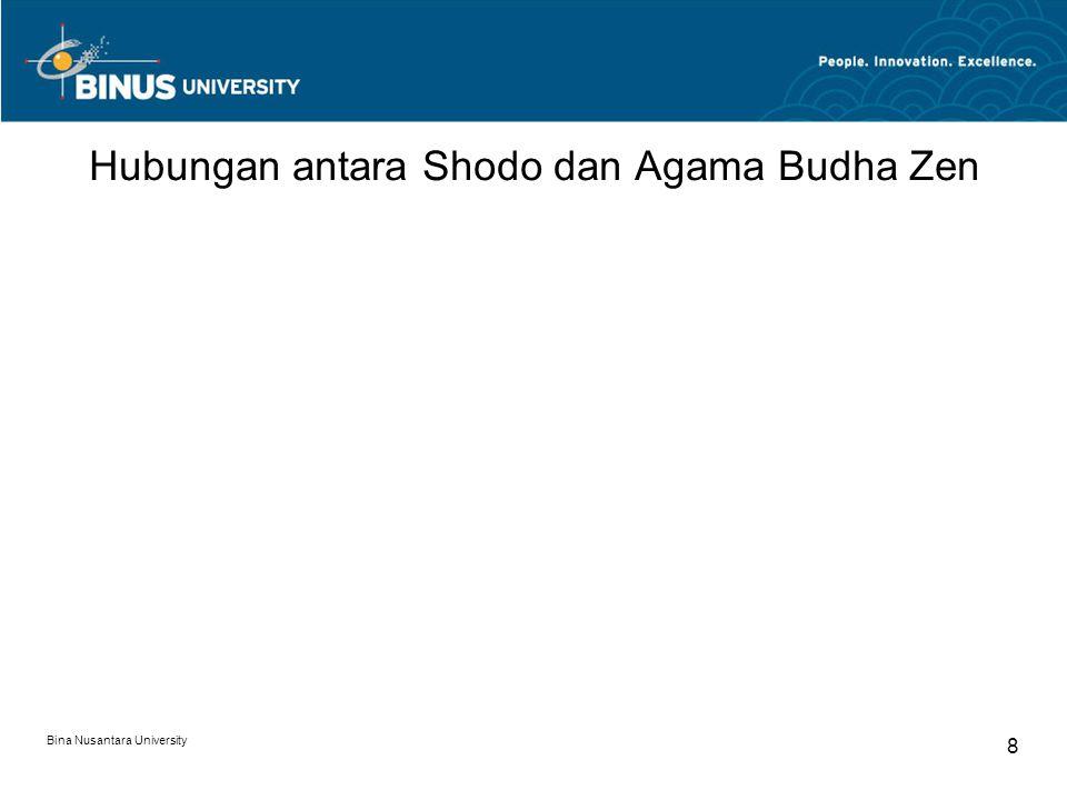 Hubungan antara Shodo dan Agama Budha Zen