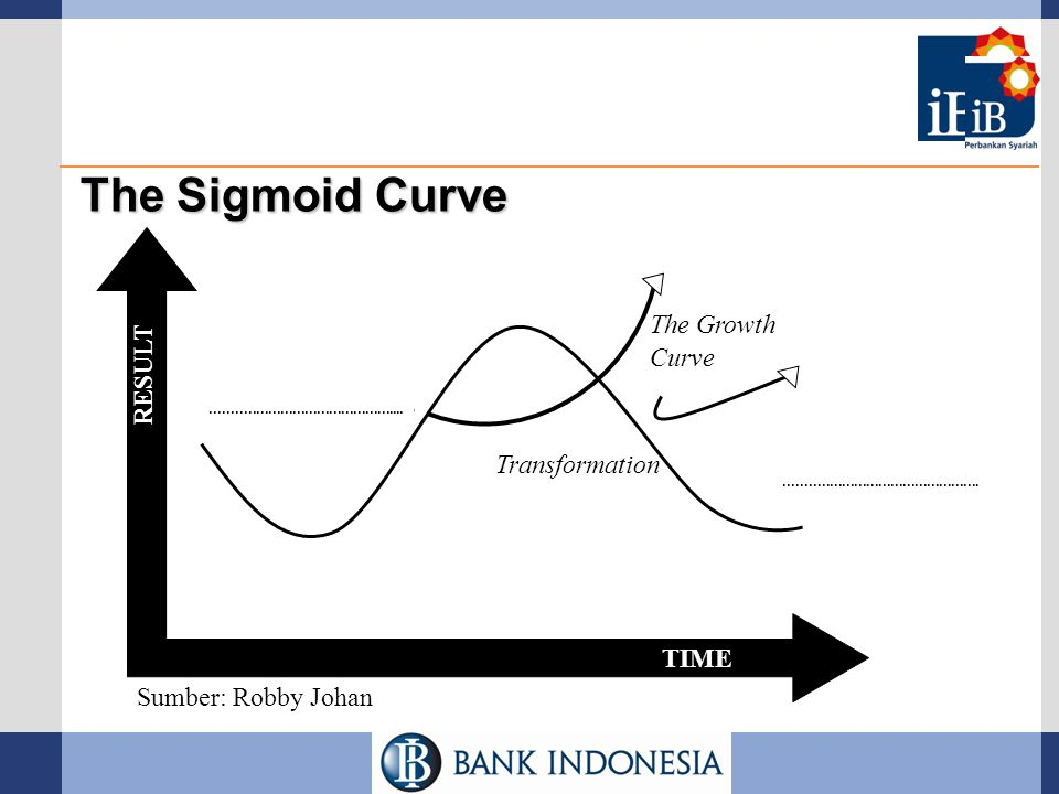 The Sigmoid Curve The Growth RESULT Curve Growth