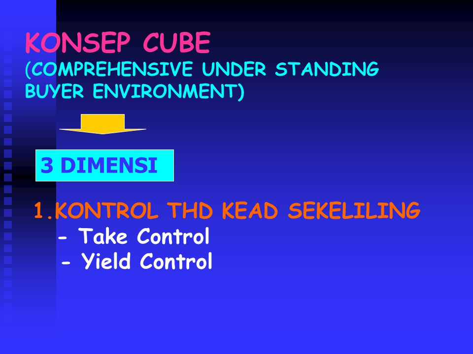 KONSEP CUBE (COMPREHENSIVE UNDER STANDING BUYER ENVIRONMENT)