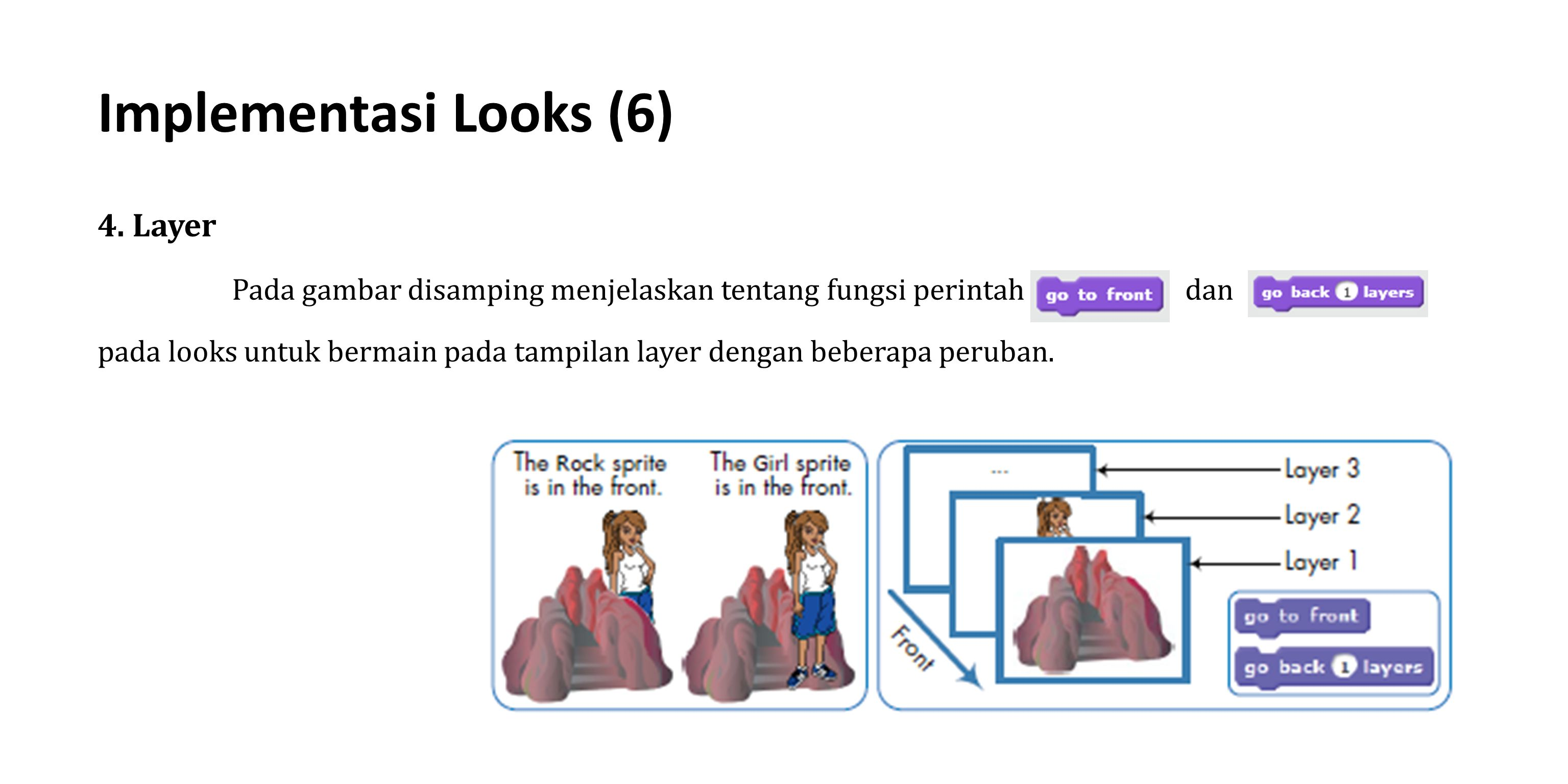 Implementasi Looks (6) 4. Layer