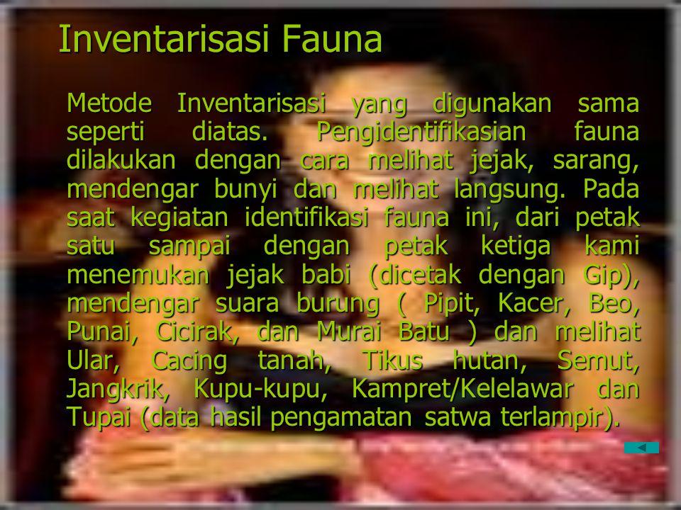 Inventarisasi Fauna