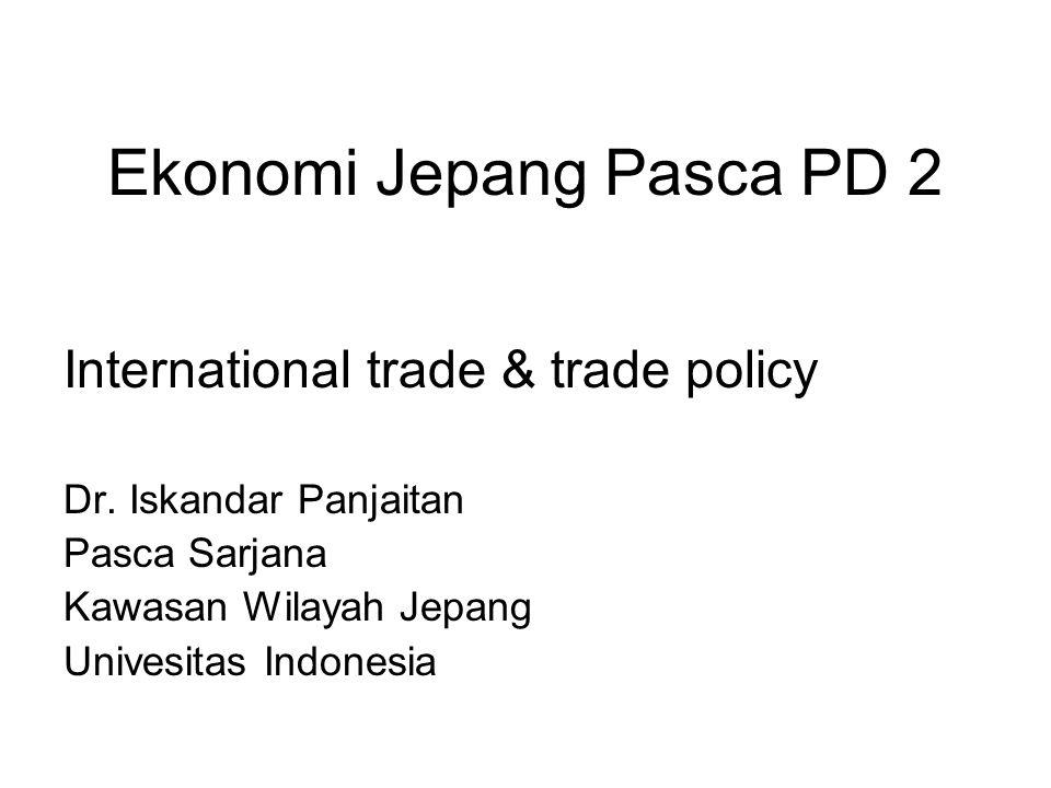 Ekonomi Jepang Pasca PD 2