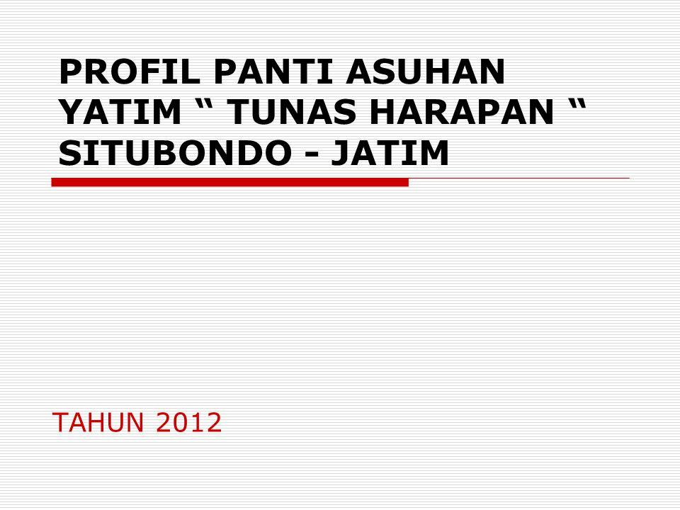 PROFIL PANTI ASUHAN YATIM TUNAS HARAPAN SITUBONDO - JATIM