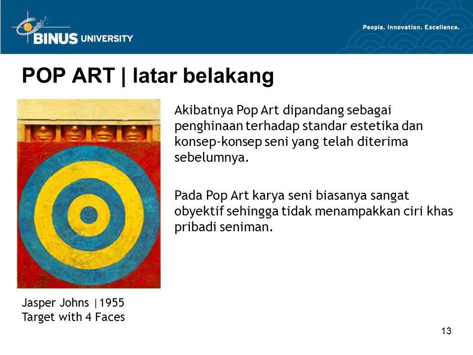 POP ART | latar belakang