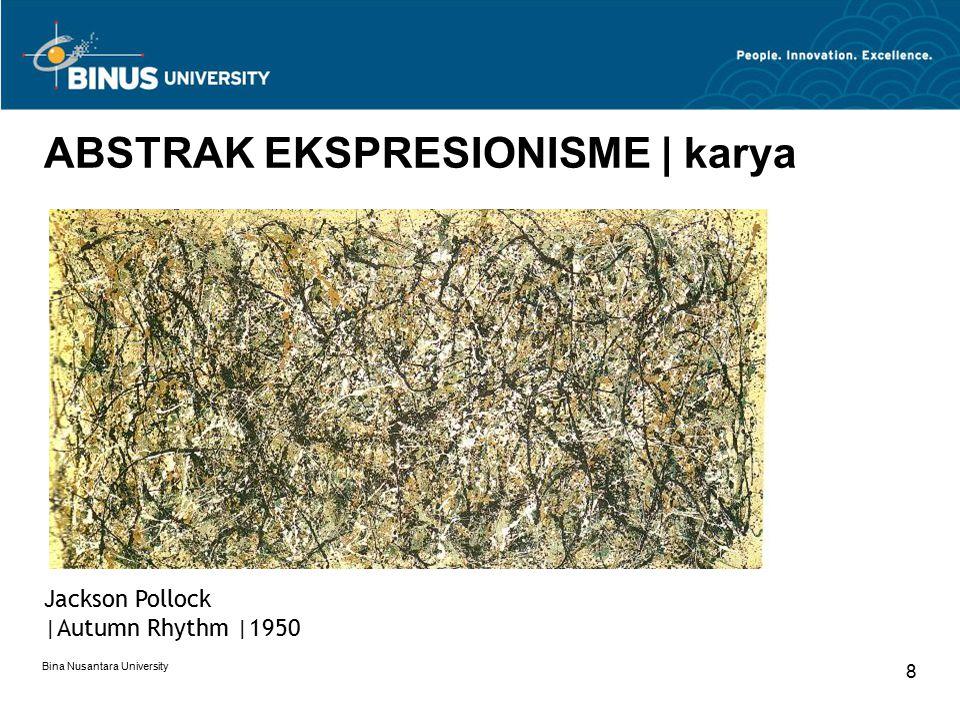 ABSTRAK EKSPRESIONISME | karya