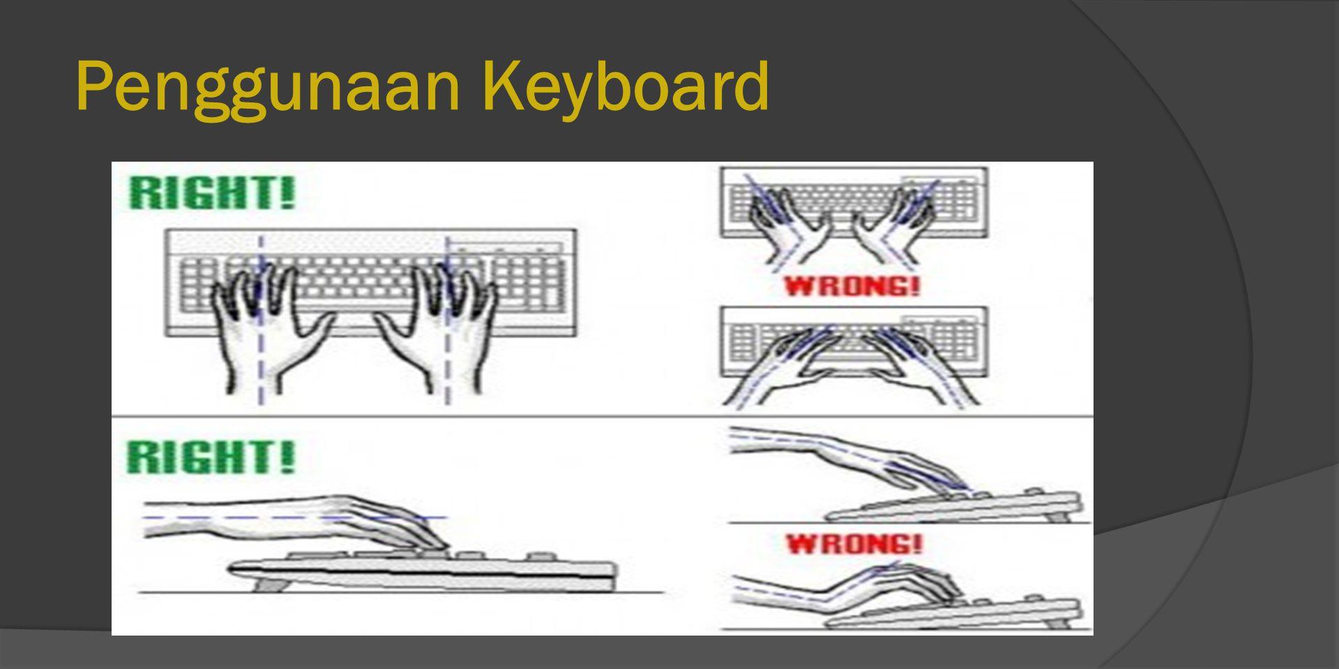 Penggunaan Keyboard