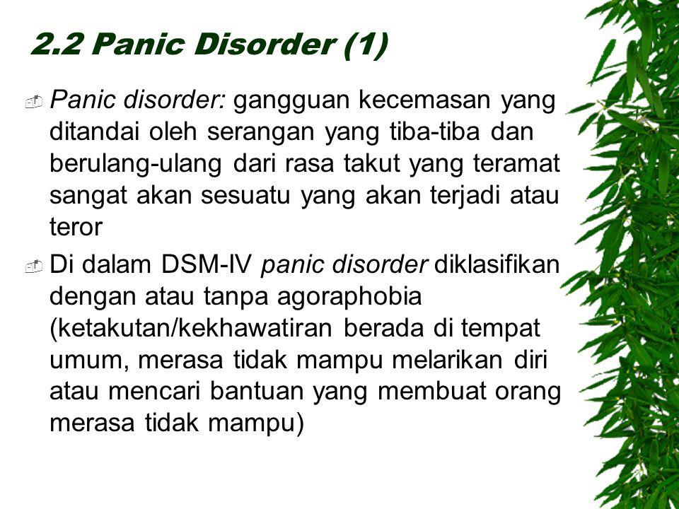 2.2 Panic Disorder (1)