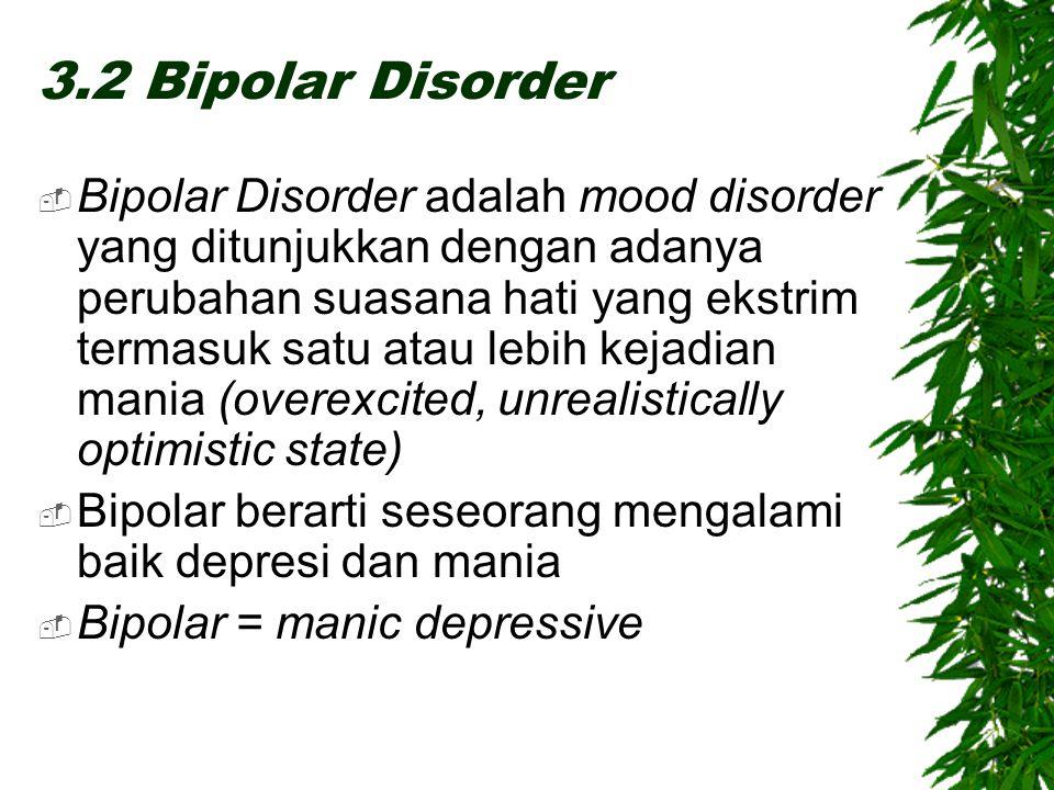 3.2 Bipolar Disorder