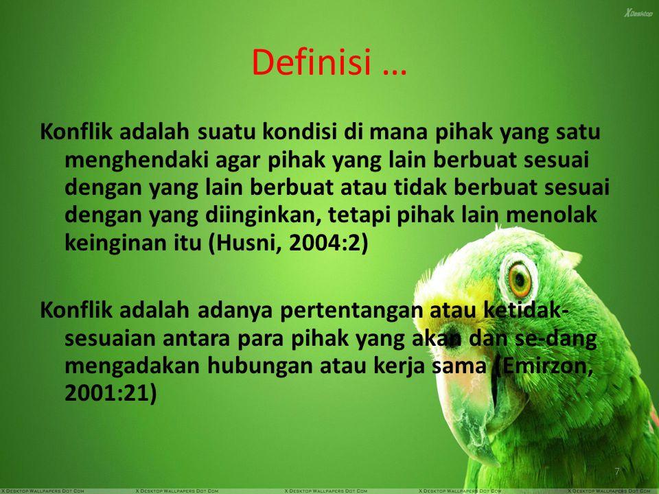 Definisi …