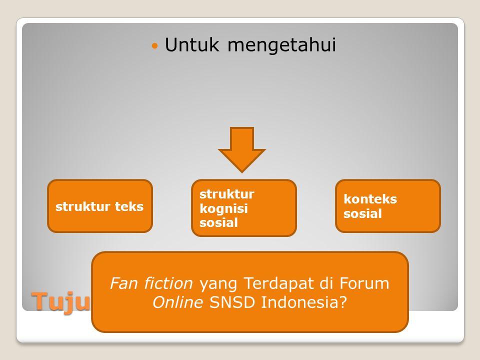 Fan fiction yang Terdapat di Forum Online SNSD Indonesia