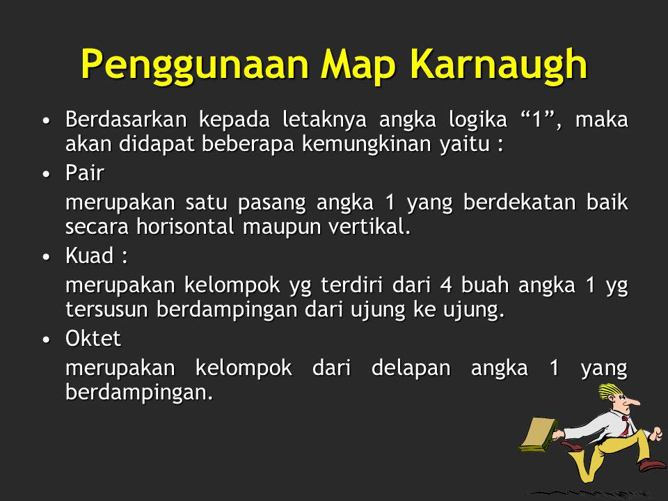 Penggunaan Map Karnaugh