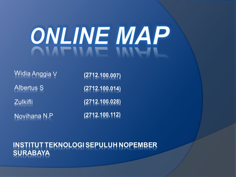 ONLINE MAP INSTITUT TEKNOLOGI SEPULUH NOPEMBER SURABAYA