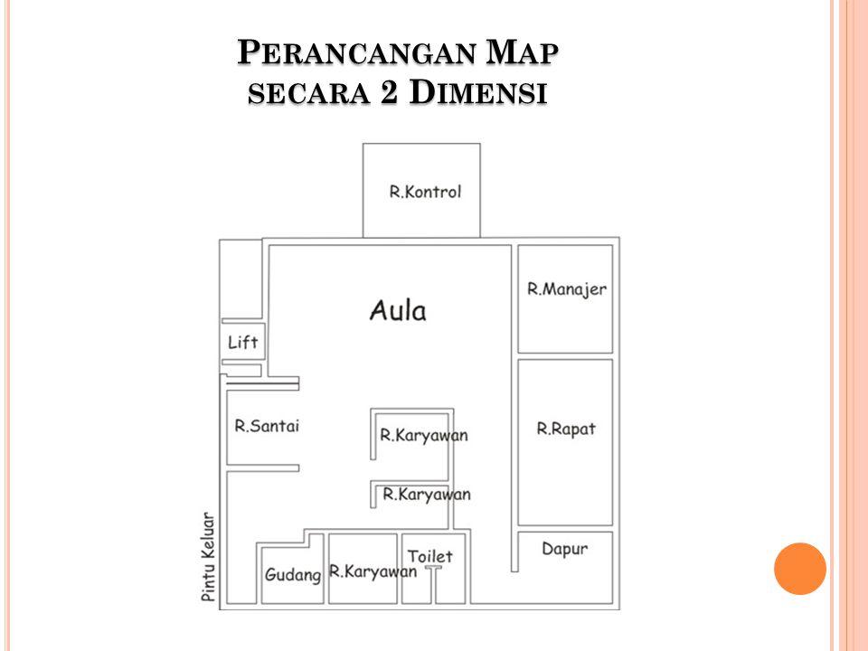 Perancangan Map secara 2 Dimensi