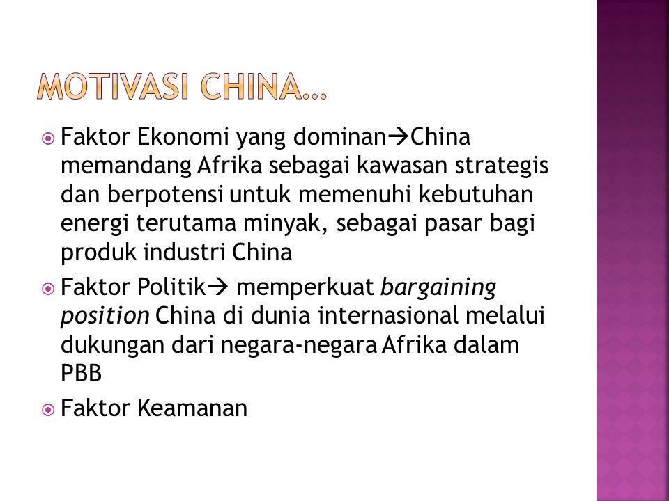 Motivasi China…