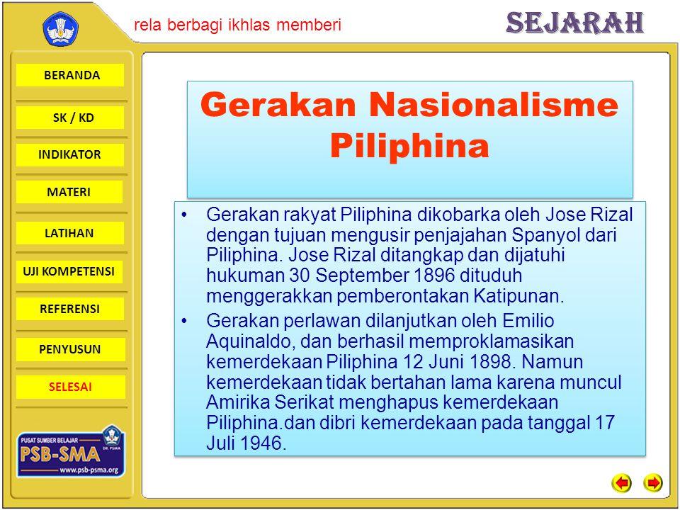 Gerakan Nasionalisme Piliphina