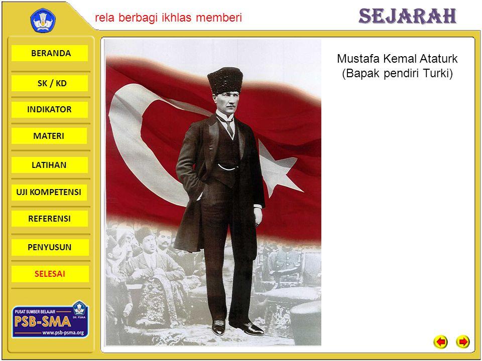 Mustafa Kemal Ataturk (Bapak pendiri Turki)