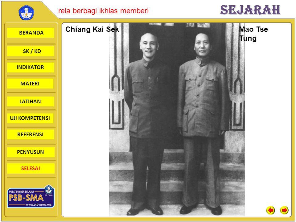 Chiang Kai Sek Mao Tse Tung