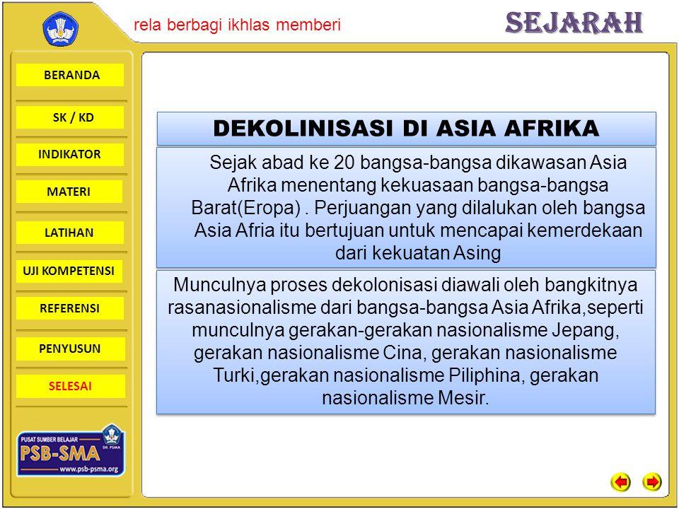 DEKOLINISASI DI ASIA AFRIKA