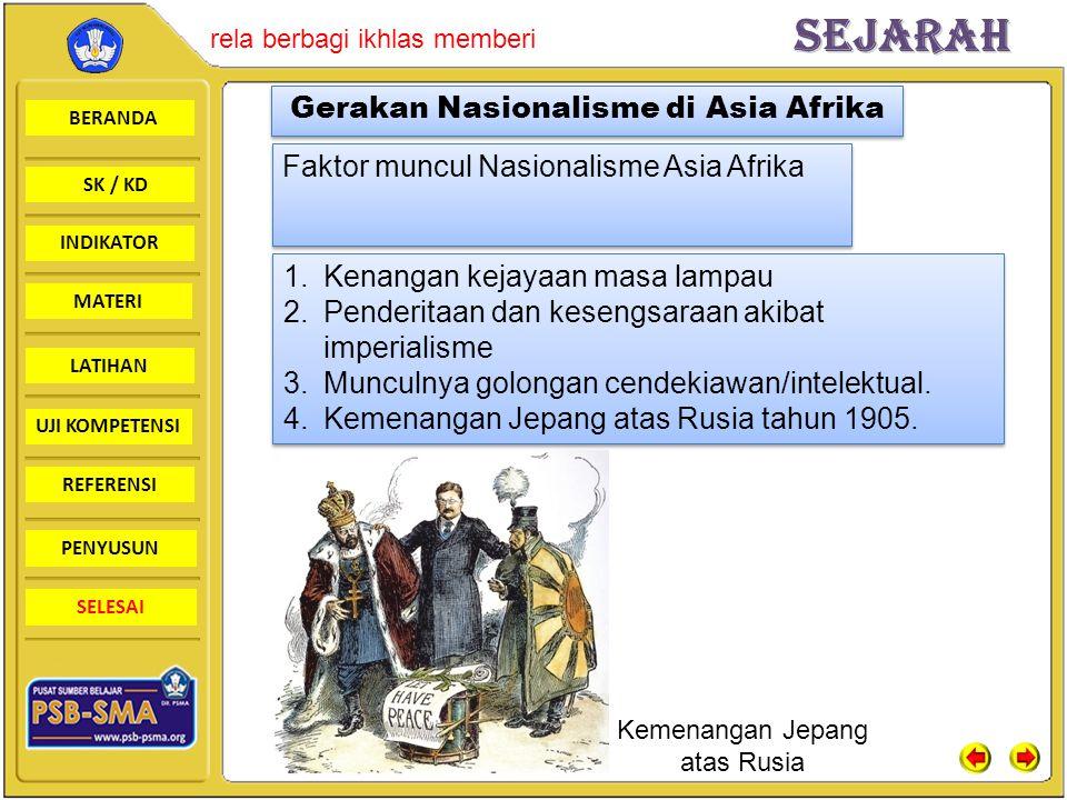 Gerakan Nasionalisme di Asia Afrika