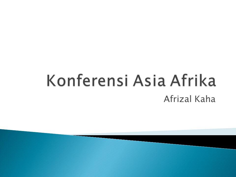 Konferensi Asia Afrika