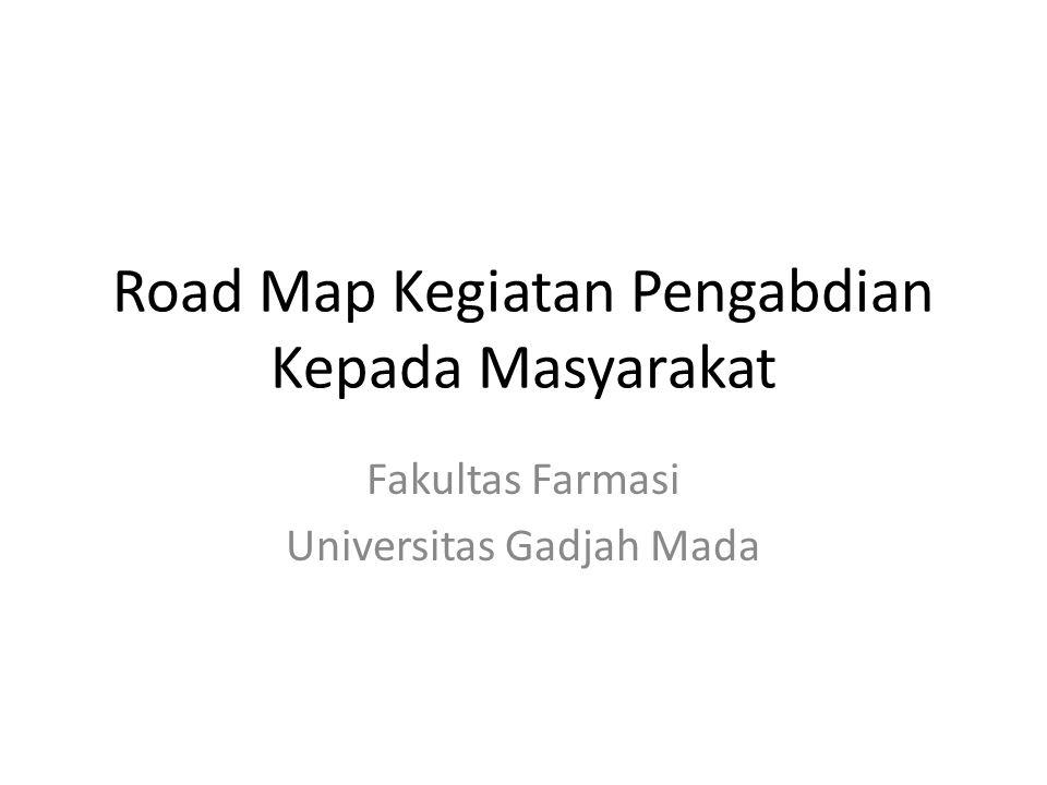 Road Map Kegiatan Pengabdian Kepada Masyarakat