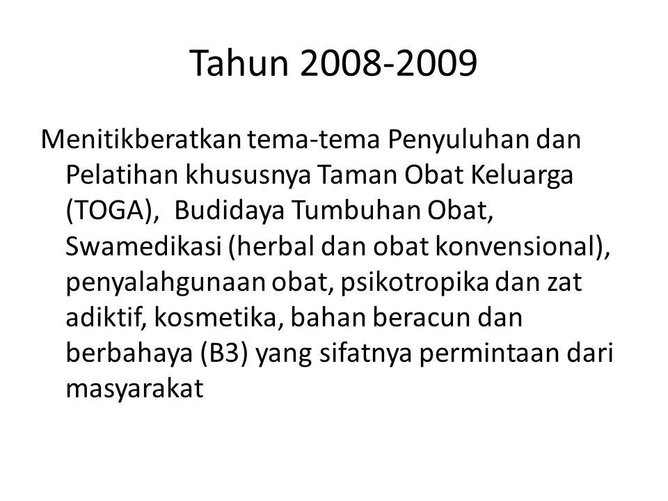 Tahun 2008-2009