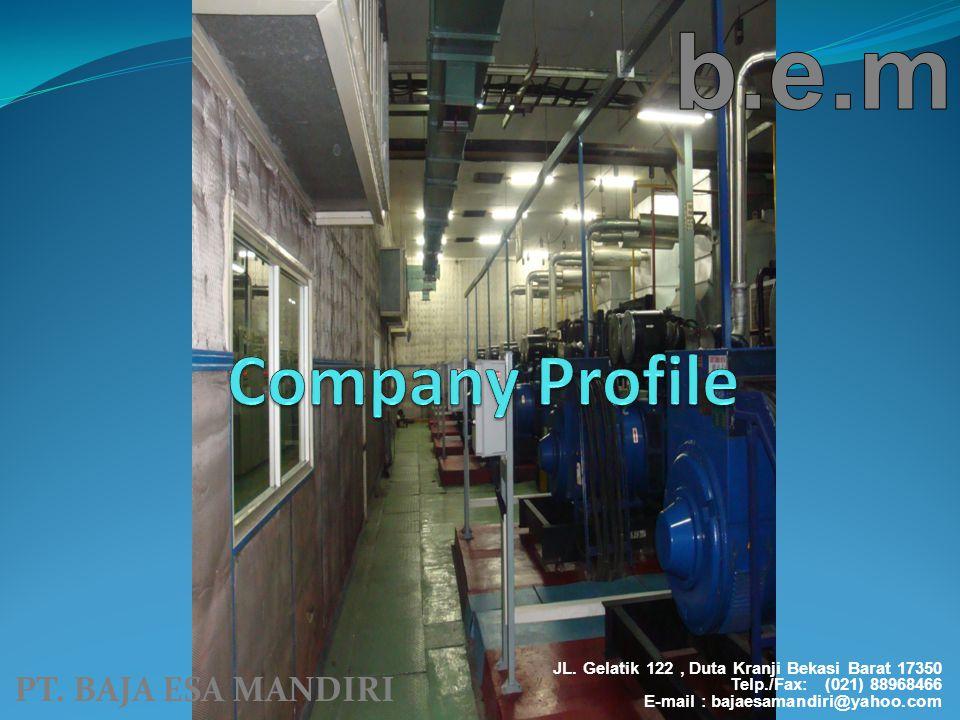 b.e.m Company Profile PT. BAJA ESA MANDIRI