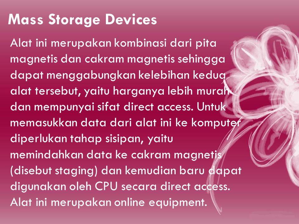 Mass Storage Devices