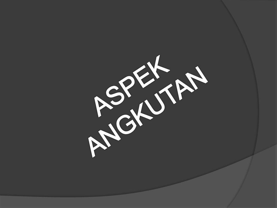 ASPEK ANGKUTAN