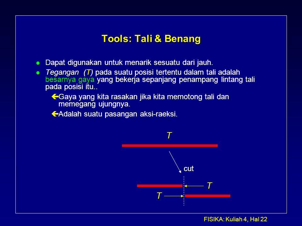 Tools: Tali & Benang T T T
