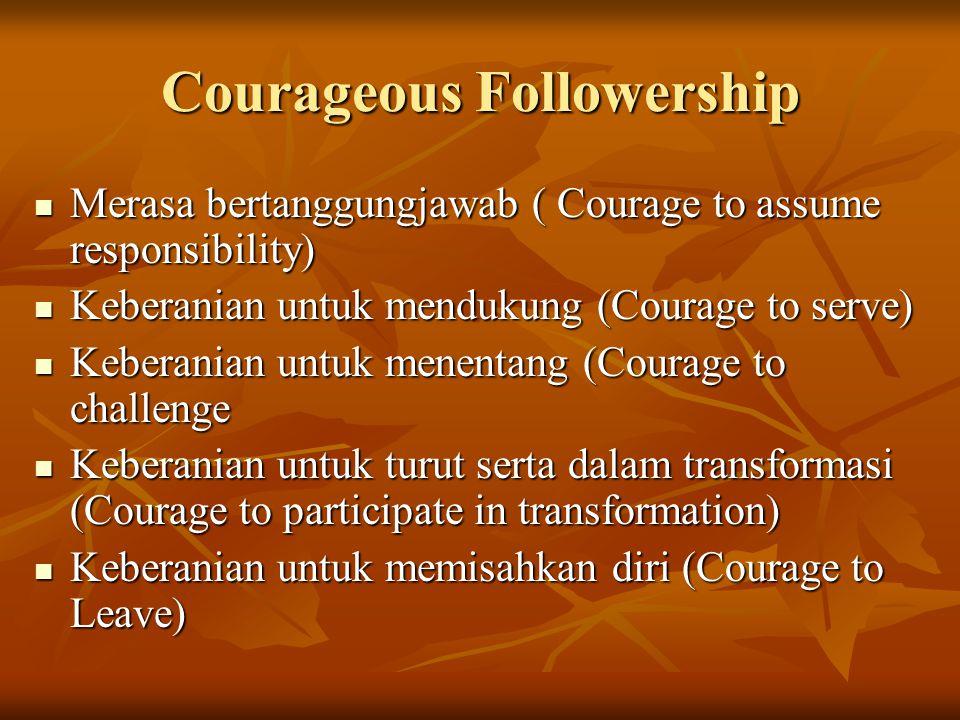 Courageous Followership