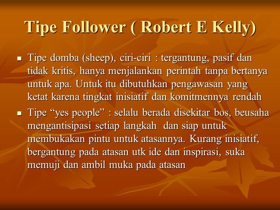 Tipe Follower ( Robert E Kelly)