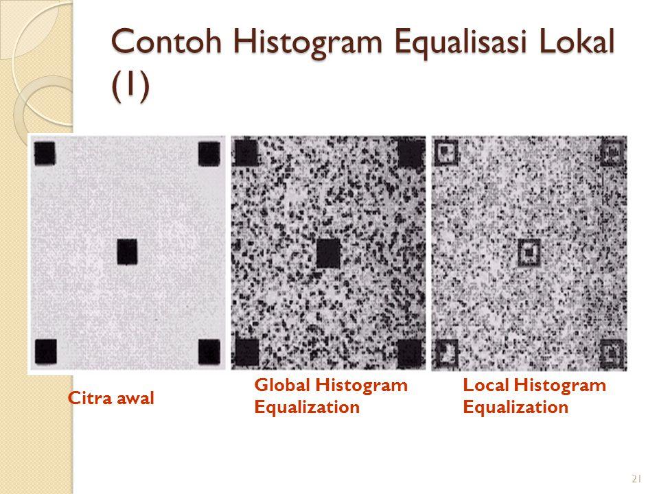 Contoh Histogram Equalisasi Lokal (1)