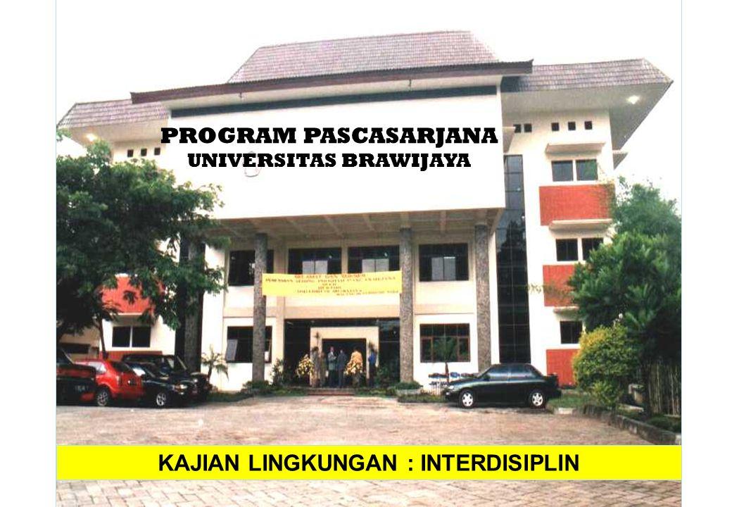 UNIVERSITAS BRAWIJAYA KAJIAN LINGKUNGAN : INTERDISIPLIN