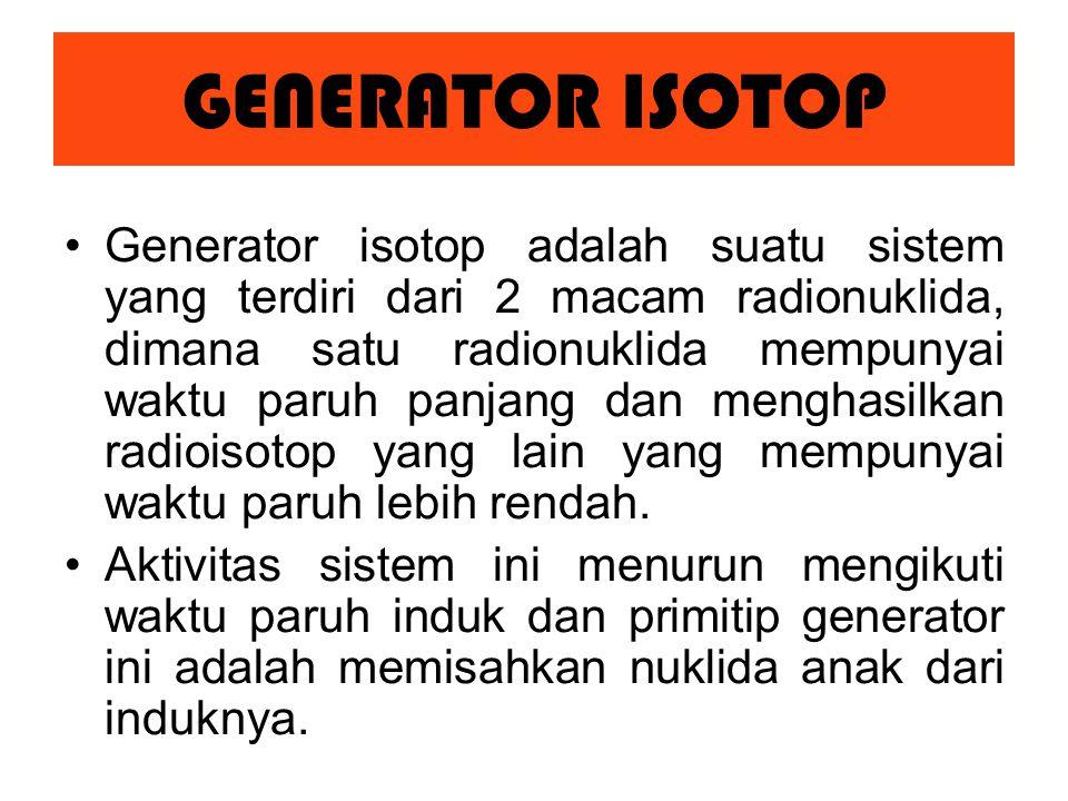GENERATOR ISOTOP